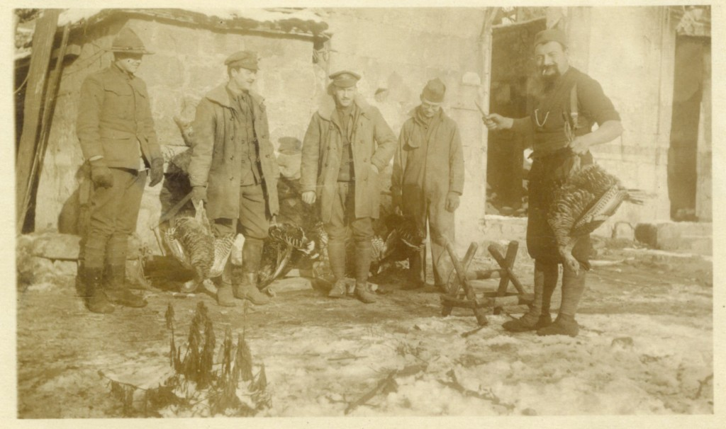 41. Christmas dinner in preparation, Juvigny, Dec. 23, 1917.