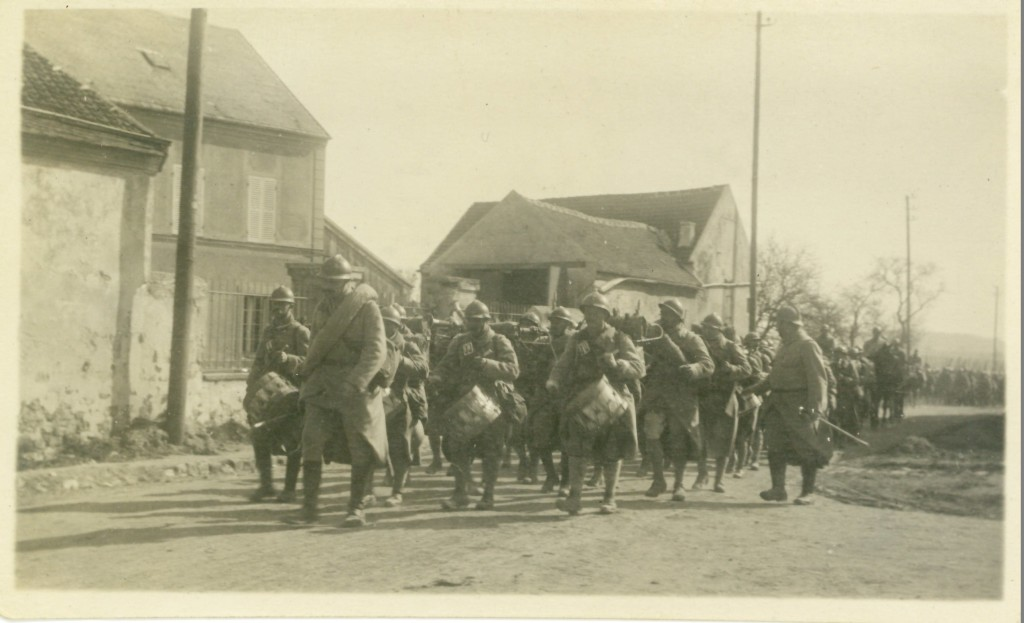 50. Band of the 118th Regt of the line, March 17, 1918