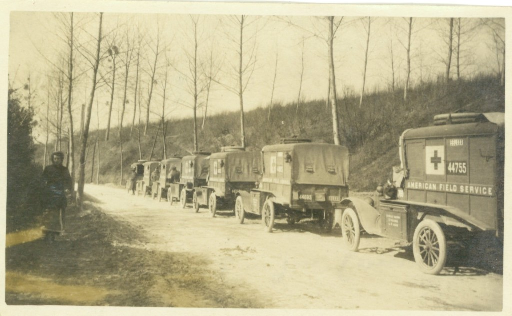 53. S.S.U. 642 - In Convoy on route for Lagny