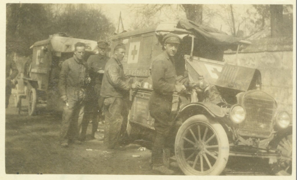 54. Coming out of The Somme S.S.U 642 at Vic-sur-Aisne April 10, 1918, Mud and Corruption