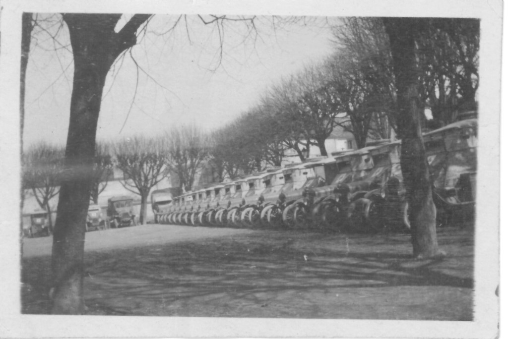 55. Line up in Lagny, May 21, 1918