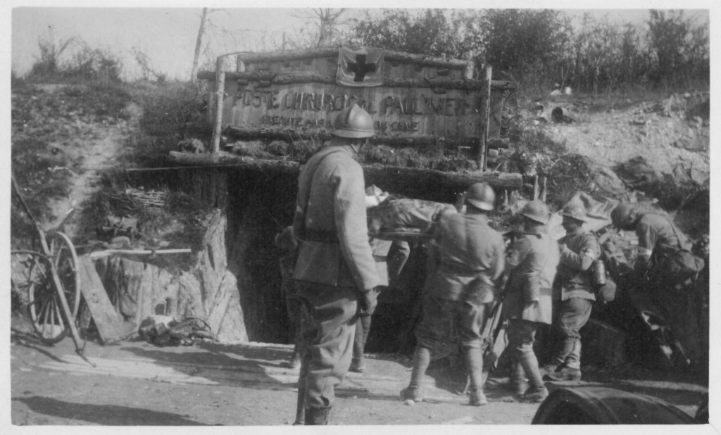 62. Wounded coming into Louain Sept 26th 1918 - Champagne